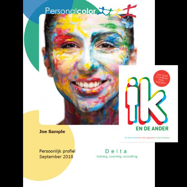 Persoonlijkheidsprofiel + Boek 'Ik en de ander'