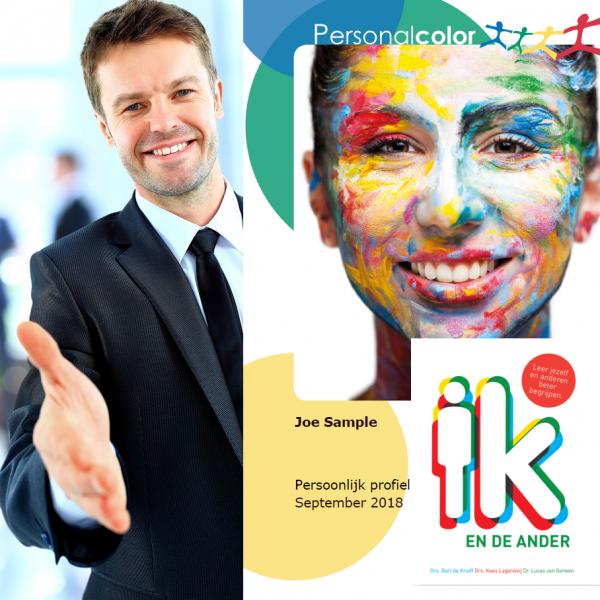 Persoonlijkheidsprofiel + Persoonlijke terugkoppeling + Boek 'Ik en de ander'